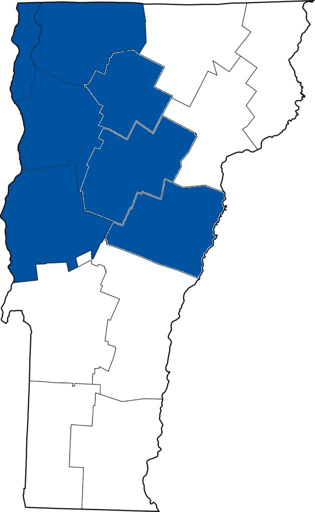 HomeShare Vermont service area